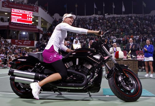 Sharapova ride
