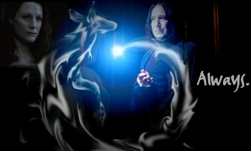 Severus Snape wallpaper titled Snape & Lily ♥