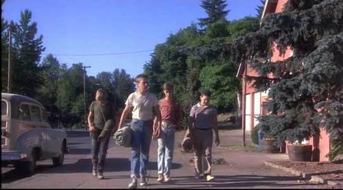 Stand By Me wallpaper probably with a street and a sitka spruce called Stand By Me