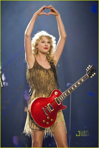 Taylor rápido, swift Rocks Her show, concerto Balcony - Literally