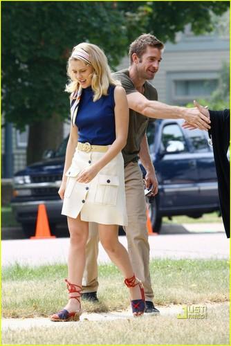 Teresa Palmer: Scott Speedman Visits 'A.W.O.L.'