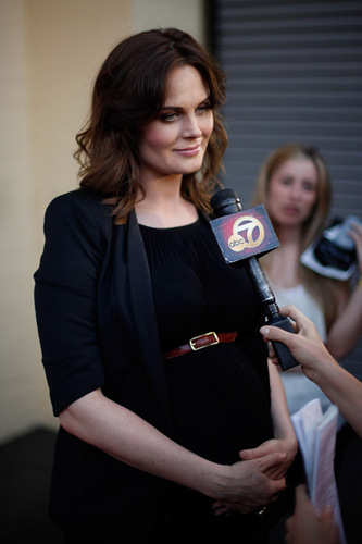 Emily Deschanel wallpaper called The 29th Annual Gay & Lesbian Film Festival Screening Of 'The Perfect Family' [July 17, 2011]