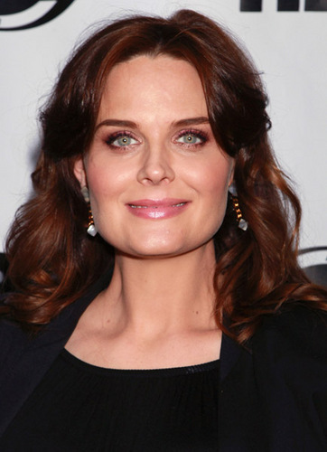 Emily Deschanel wallpaper containing a portrait entitled The 29th Annual Gay & Lesbian Film Festival Screening Of 'The Perfect Family' [July 17, 2011]
