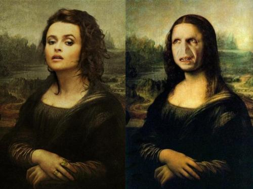 bellatrix lestrange wallpaper possibly with a portrait titled The Bella Lisa