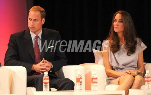 The Duke And Duchess Of Cambridge Attend Variety's Venture Capital And New Media Summit