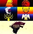 The Houses of Game Of Thrones