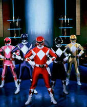 Mighty Morphin Power Rangers wallpaper possibly containing a bandsman entitled The Rangers