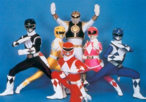 Mighty Morphin Power Rangers Обои called The Rangers
