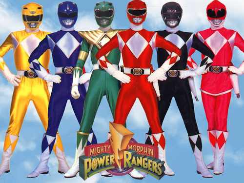 Mighty Morphin Power Rangers wallpaper probably containing regimentals called The Rangers