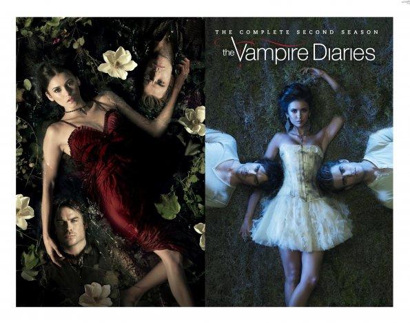 The Vampire Diaries -  Season 2 DVD - Booklet Artwork