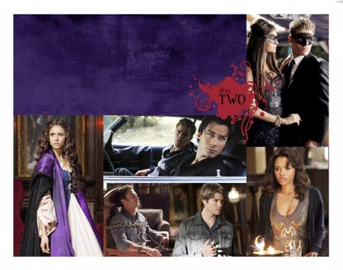 The Vampire Diaries - Season 2 DVD - Booklet Artwork