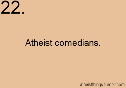 Things to Love About Atheism