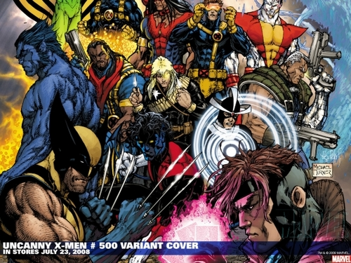 X-Men wallpaper containing anime called Uncanny X Men