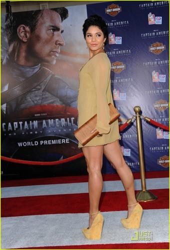 Vanessa Hudgens: 'Captain America: First Avenger' Premiere!