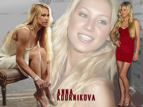 Anna Kournikova in Glam Queen