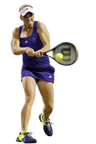 Melanie Oudin REALLY Dislikes the Ball