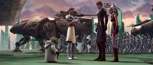 Yoda,Obi,Ani,Snips