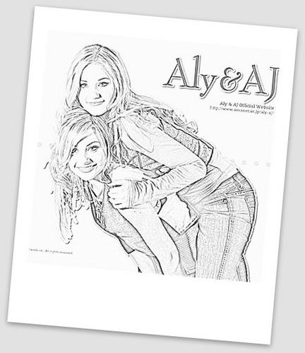 aly &&&& aj drawing also par picnik