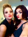 aria and hannah - pretty-little-liars-tv-show photo