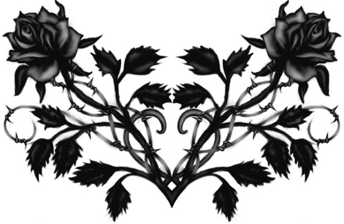 Black rosas wallpaper probably containing a hippeastrum entitled black rose