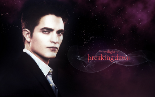 edward breaking dawn 壁纸