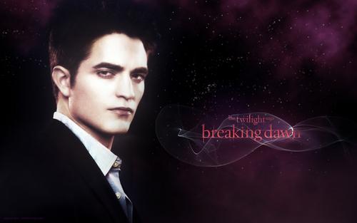 edward breaking dawn پیپر وال