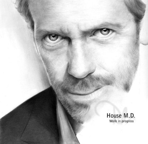 hugh laurie( House MD)