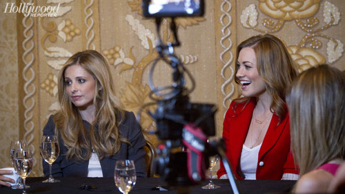Yvonne Strahovski in the Hollywood Reporter 'Women Of Comic Con' Round Table