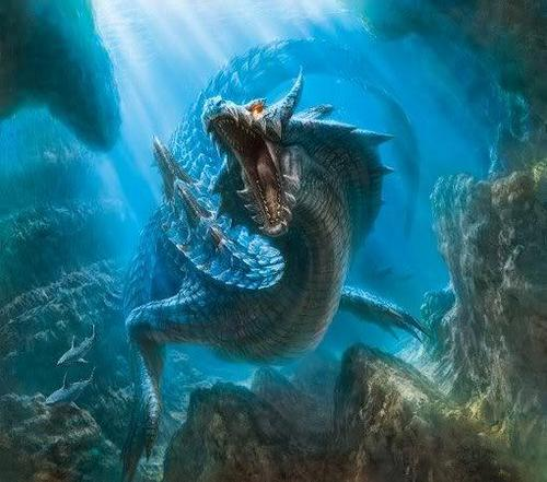 legendary water dragon