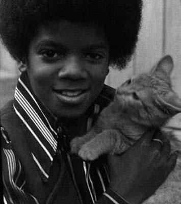 little Mikey and kitten