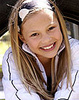 olivia holt 照片 with a portrait entitled olivia as a little girl