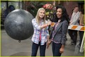 olivia on set of kickin' it