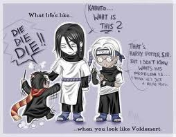 orochimaru,kabuto,harry potter