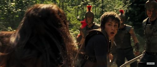 percy and annabeth battle