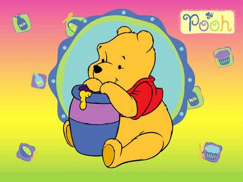 winnie the pooh wallpaper with anime titled pooh
