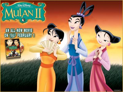 princesses Ting-ting, Su, and Mei
