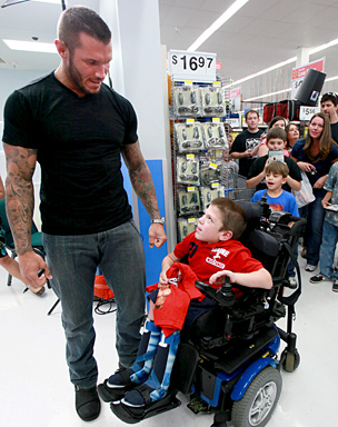 randy orton and Fans