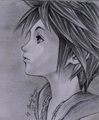 realistic sora - kingdom-hearts fan art
