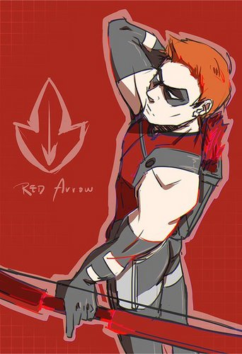 red panah