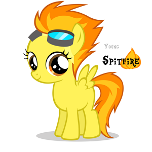 spitfire as a filly