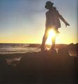 sunset - michael-jackson photo