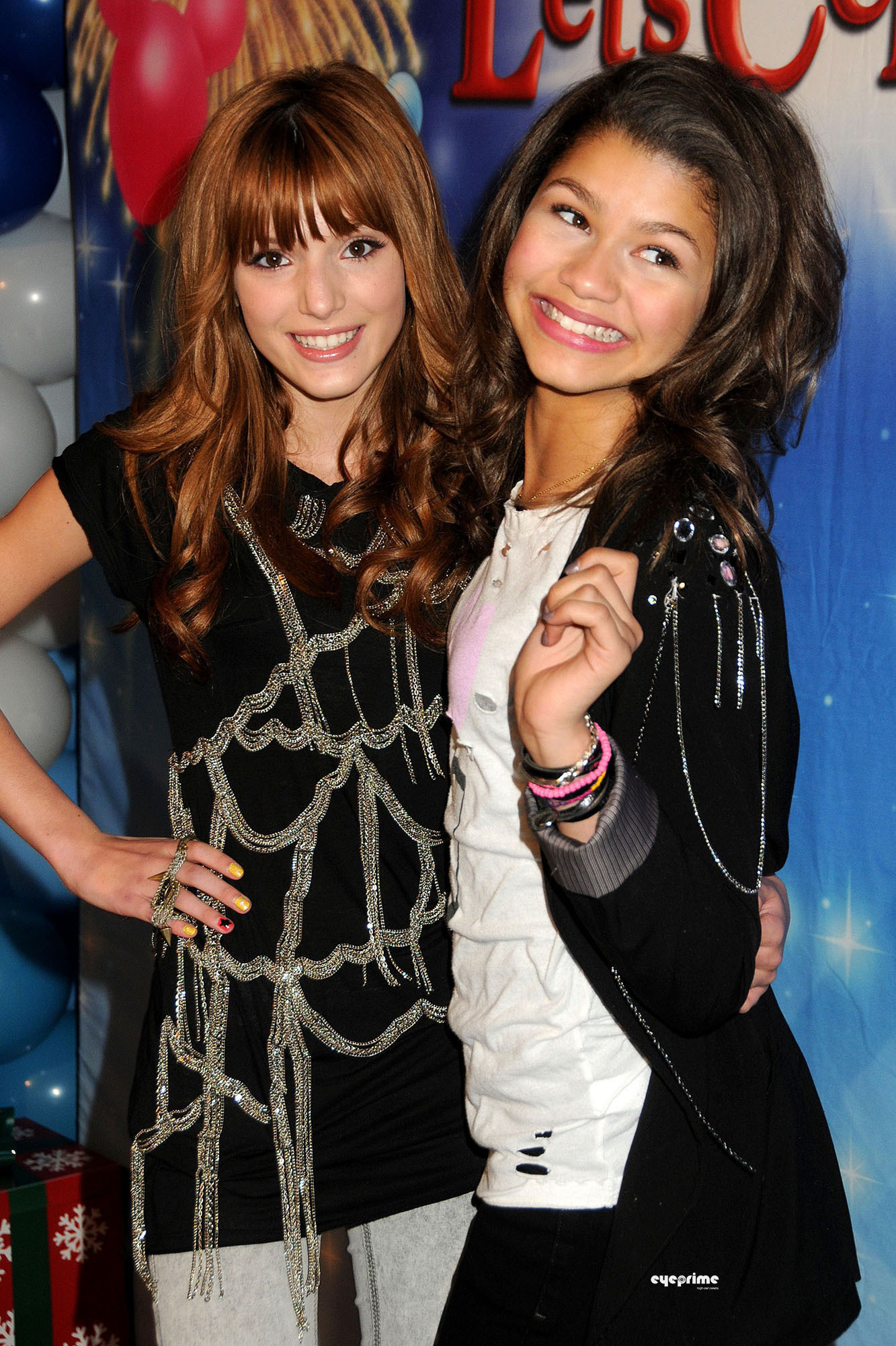 Zendaya and Bella Thorne what select images said