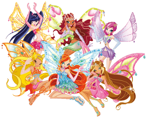 winx club beautiful enchantix's