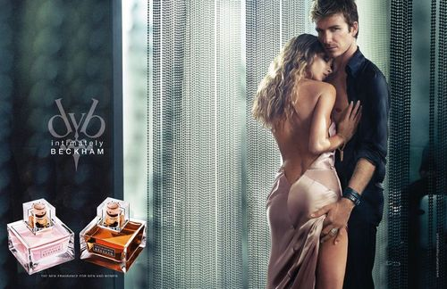 """Intimately Beckham"" Fragrance Advertisements"