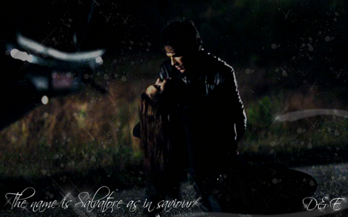 'Name is Salvatore, as in saviour'