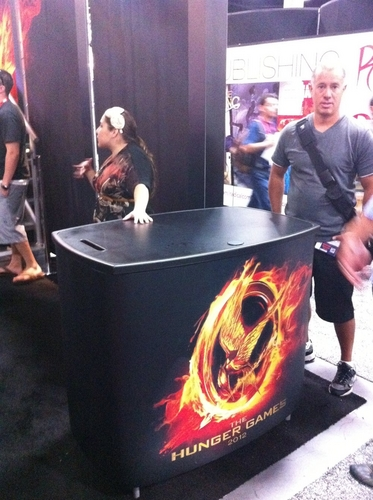 The Hunger Games Movie 바탕화면 entitled 'The Hunger Games' at San Diego Comic-Con 2011
