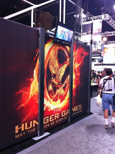 The Hunger Games Movie wallpaper entitled 'The Hunger Games' at San Diego Comic-Con 2011