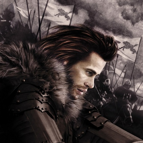 A Song Of Ice And fogo - 2012 Calendar - April - Robb Stark