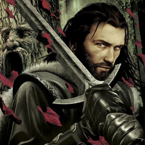 A Song Of Ice And Fire - 2012 Calendar Images - December -  Eddard Stark