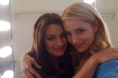 Lea Michele and Dianna Agron hình nền containing a portrait entitled Achele <3